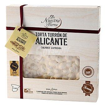 De nuestra tierra Torta Turrón de Alicante 200 g