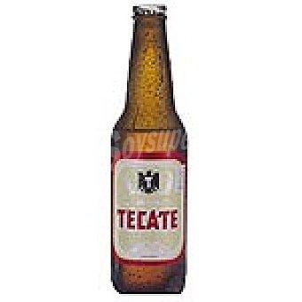 TECATE Cerveza rubia mejicana Botella 33 cl