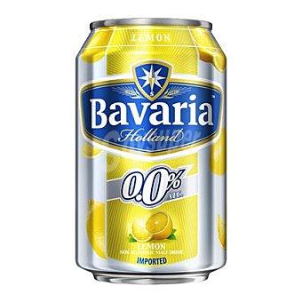 Bavaria Cerveza holandesa sin alcohol 0,0% con limón 33 cl