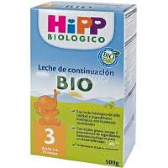 HiPP Biológico Leche Junior Bio 3 Caja 500 g