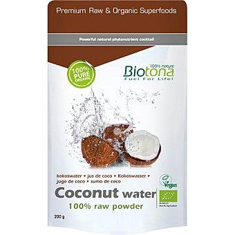 jugo de coco 100% polvo puro Bio