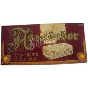 As del sabor Turrón de crema de cacahuete Caja 150 g