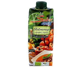 Biosabor Salmorejo ecológico con aceite de oliva virgen extra Envase 500 ml