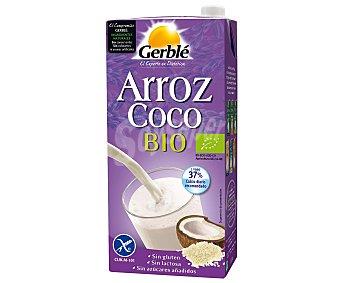 Gerblé Bebida de arroz con coco ecológica sin lactosa Sin gluten Envase 1 l
