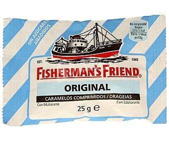 Fisherman´s Friend Caramelos menta extra fuertes sin azúcar fishermann's 25 g