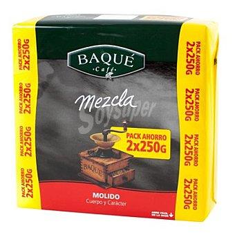 Café Baqué Café molido mezcla Pack de 2x250 g