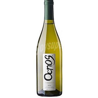 OCNOS vino blanco chardonnay ecológico de Andalucía  botella 75 cl