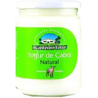 CANTERO de LETUR Yogur natural de cabra Tarro 420 g