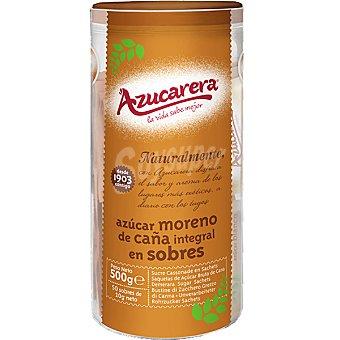 Azucarera Azúcar moreno integral de caña en sobres Bote 400 g