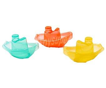 PRODUCTO ALCAMPO Barcos apilables, varios colores