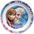 Plato decorado llano 22 cm 1 unidad Disney Frozen