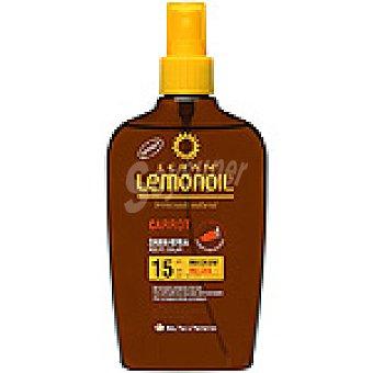 ECRAN LEMONOIL Aceite solar zanahoria FP-15 Spray 200 ml