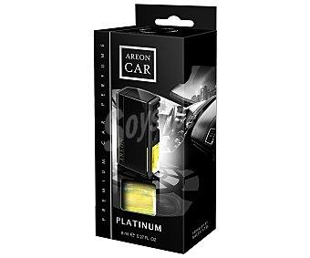 AREON Ambientador de coche para rejilla de ventilación platinum, modelo Car Black 1 unidad