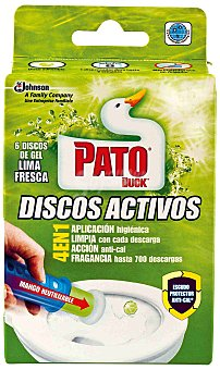 Pato Aparato wc. discos lima 36 ml