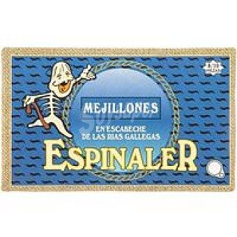 Conservas Espinaler Mejillón 8/10 piezas Lata 120 g