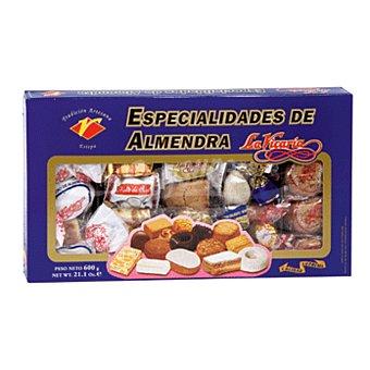 La vicaria Surtido especialidades caja 600 gr 600 gr