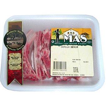 MAS Costillas frescas de cerdo ibérico peso aproximado bandeja 400