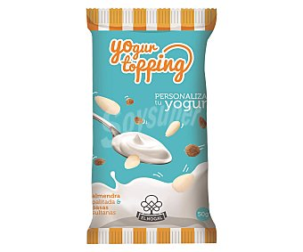El Nogal Cocktail para yogur de alemndras y pasas sultanas bolsa de 50 gramos
