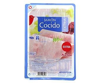 Auchan Jamón Cocido 250 gramos