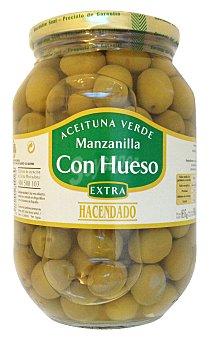 Hacendado Aceituna manzanilla con hueso Tarro 500 g escurrido