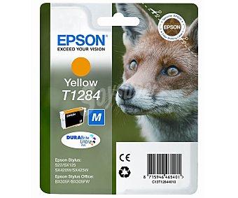 Epson Cartucho Amarillo T1284 Compatible con impresoras: S22 / SX125 / SX420W / SX425W / BX305F / BX305FW