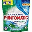 Detergente en cápsulas Bolsa 18 dosis Puntomatic