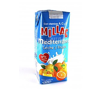 Millac Zumo leche mediterraneo 330 ml