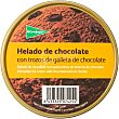 helado de chocolate con trozos de galleta de chocolate tarrina 500 ml El Corte Inglés