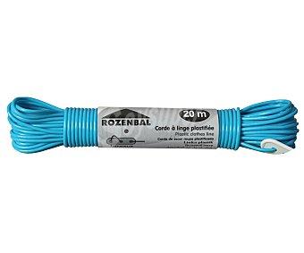 Rozenbal Cuerda de tender plastificada y de gran resistencia 20 Metros