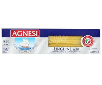 Agnesi Linguines Nº 10, pasta de sémola de trigo duro de calidad superior 500 Gramos