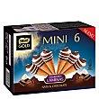 Mini conos de nata y chocolate 6 ud Nestlé Gold