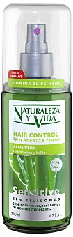 Naturaleza y Vida Anti-frizz & volumen Spray 200 ml