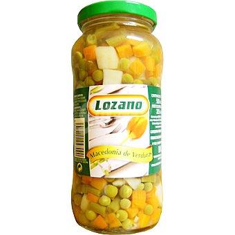 Lozano macedonia de verduras frasco 325 g neto escurrido