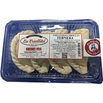 La criollita Empanada Criolla de Ternera P-4 400 g