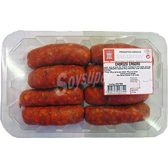 VALARCON Chorizo casero peso aproximado Bandeja 420 g