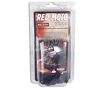 ROLMOTO Red portaobjetos con 6 puntos de sujección y medidas de 40x40 centímetros 1 unidad