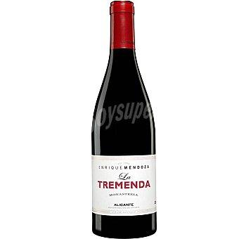 LA TREMENDA Vino tinto monastrel DO Alicante Botella 75 cl
