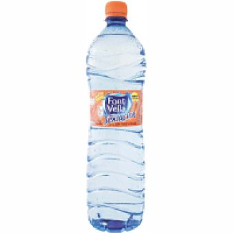 Font Vella Agua sabor melocotón Botella 1,25 litros