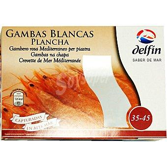 Delfín Gambas blancas especial plancha 35-45 piezas Estuche 300 g neto escurrido
