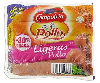 Campofrío Salchichas Ligeras de Pollo 190g