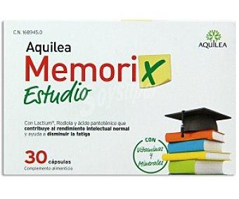 AQUILEA Memorix Complemento alimenticio, con Lactium, Rodiola y ácido pantoténico que contribuye al rendimiento intelectual normal y ayuda a disminuir la fatiga 30 C