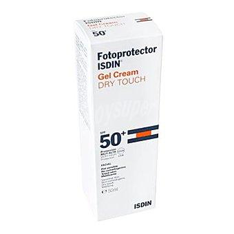 Isdin Fotoprotector gel Dry Touch FP 50+ para piel sensible 50 ml
