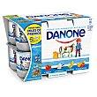 Yogures Surtidos sabor Fresa, Vainilla, Plátano y Macedonia Pack 12x125 g Danone