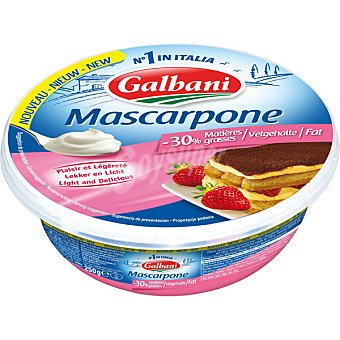 GALBANI Queso mascarpone light Envase 250 g