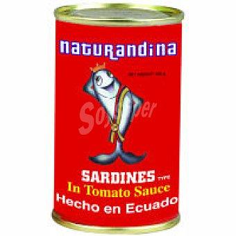 NATURANDINA Sardina tinapa Lata 155 g