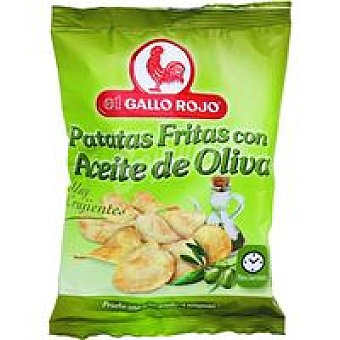 El Gallo Rojo Patatas fritas en aceite de oliva Bolsa 200 g