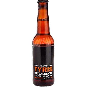 TYRIS Cerveza valenciana artesanal de trigo botella 33 cl 33 cl