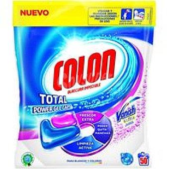 Colón Detergente en cápsulas Vanish 50 dosis