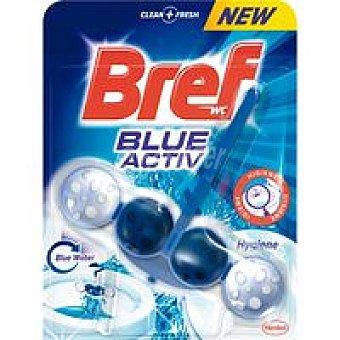 Bref WC Limpiador wc poder activo azul Pack 1 unid