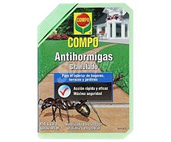 Compo Antihormigas granulado, para interior de hogares, terrazas y jardines 450 Gramos